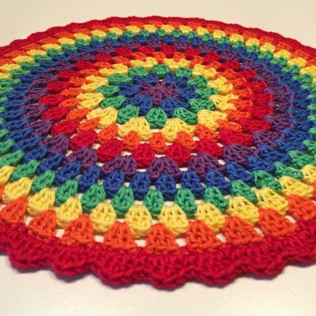 Rainbow mandalas for my little princess. Diagram pattern