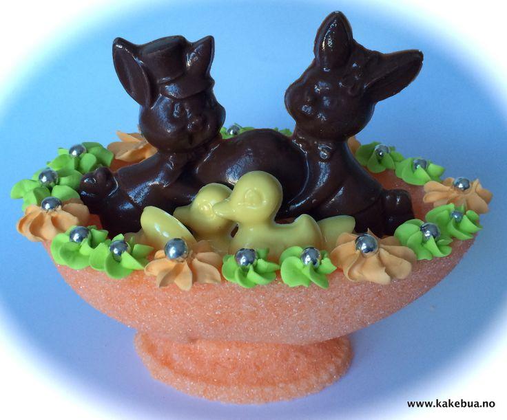 Sugaregg with chocolate for Easter - Sukkeregg med sjokoladebiter til påske !