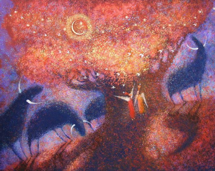 Заждавшаяся Утра Ночь (850×678)