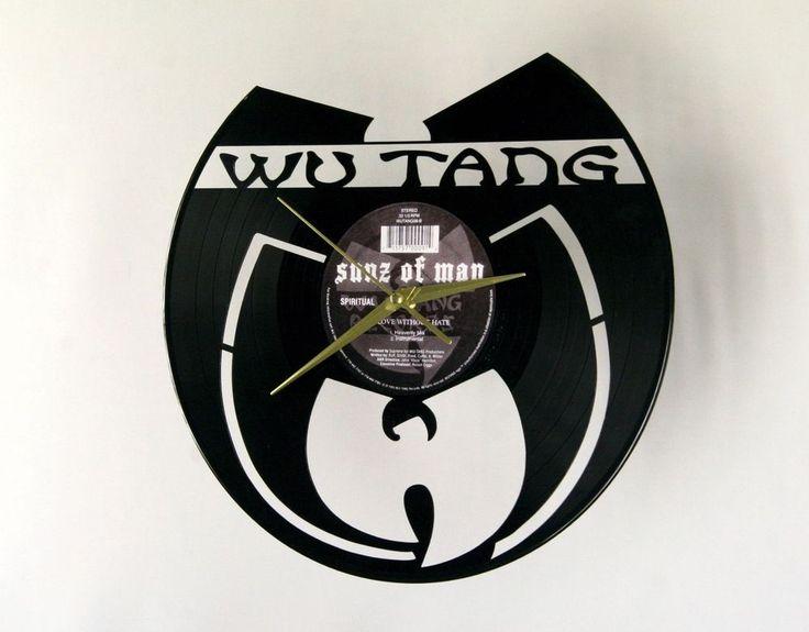Wu Tang Clan vinyl wall clock 033 #Notspecified