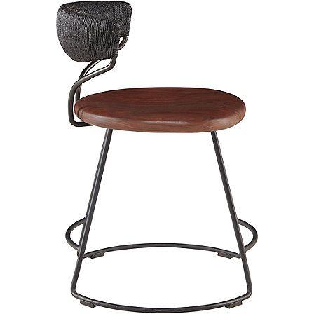 McGuire Furniture: Danish Cord Swivel Dining Chair: No. M-426