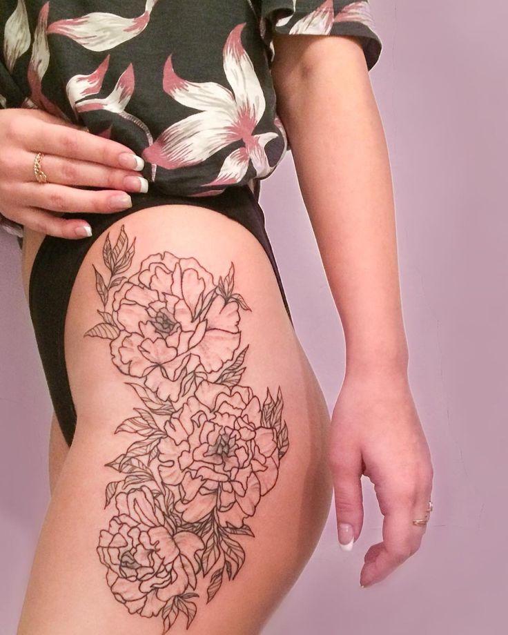 TATUAGENS FEMININAS → 500+ Fotos e Ideias para você | Tatuagem na coxa, Idéias de tatuagem femininas, Tatuagem
