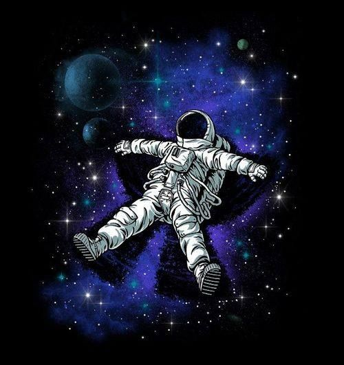 astronaut in space painting - photo #13