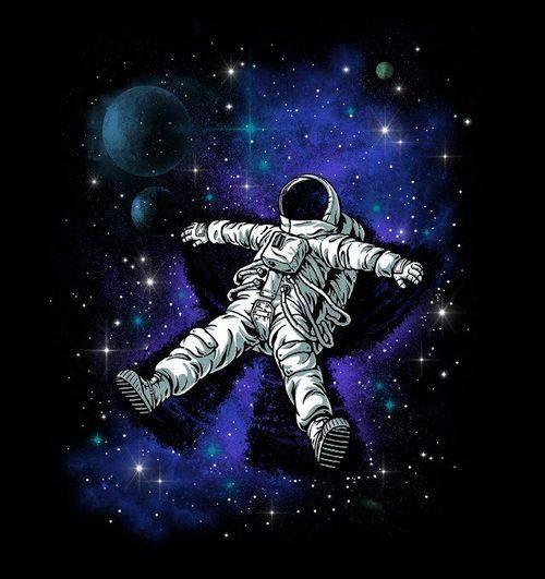 Entre el suelo y el cielo, donde nadie nos ve, vamos nosotros flotando en el aire...