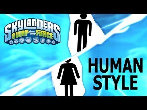 Skylanders: Human Swap Force? - YouTube