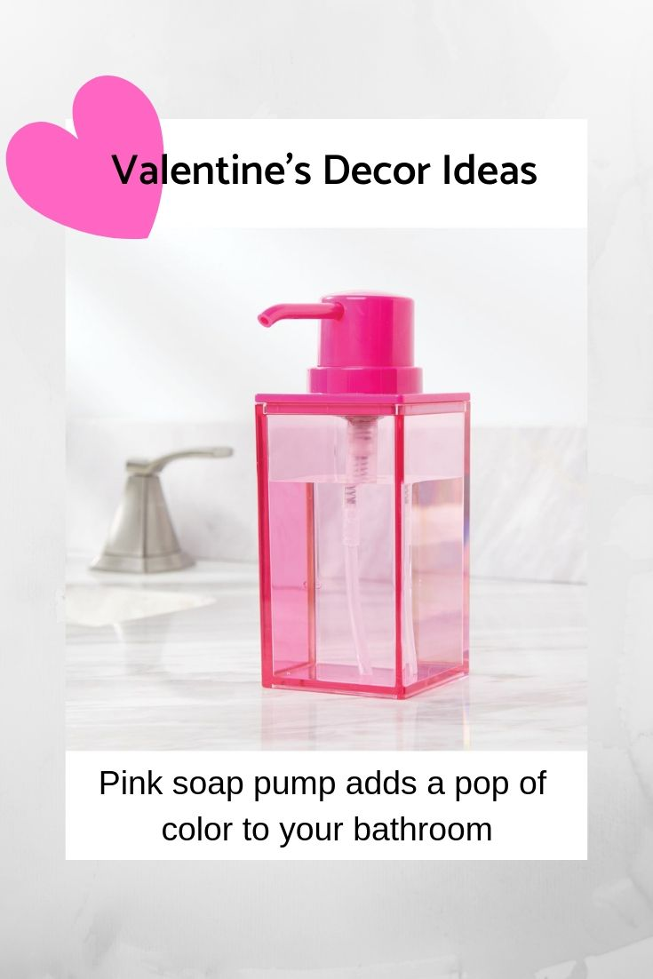 Add A Pop Of Color To Your Bathroom This Valentine S Day Reusable