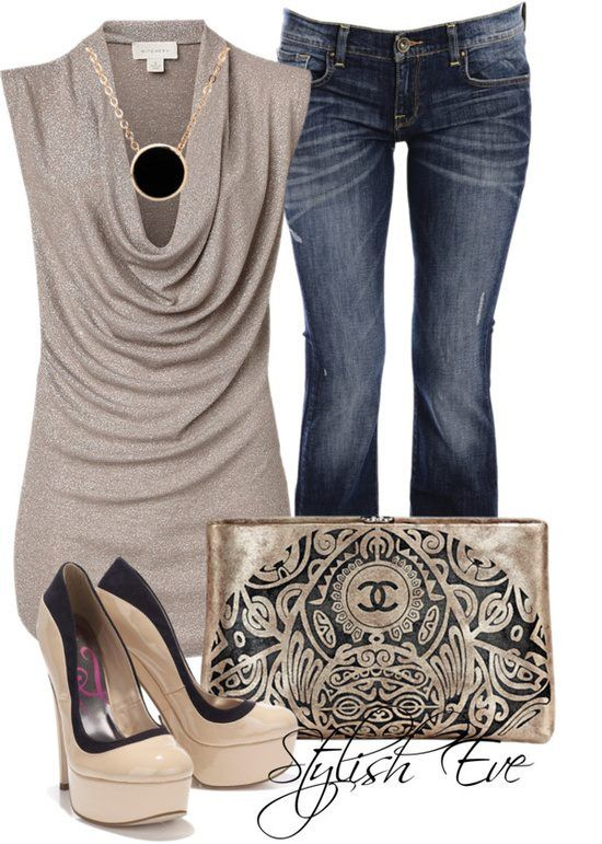 Dinner and a movie outfit... <3 By Stylish Eve on Polyvore