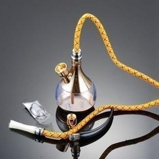 Amor estilo chinês hantec hd 805 cachimbo de água de fumar tabaco de cachimbo cachimbo dupla pote de ouro e