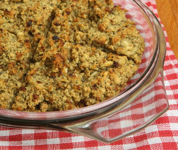 Gluten Free Pork, Sage and Onion Christmas and Thanksgiving Stuffing