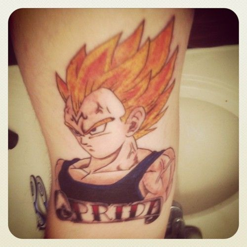 17 best images about dragon ball z tattoos on pinterest for How much is a prinker tattoo