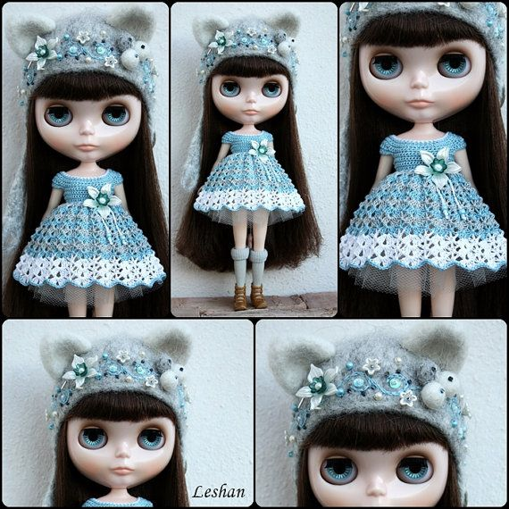 Beautiful Kitty Set for Blythe by leshan on Etsy