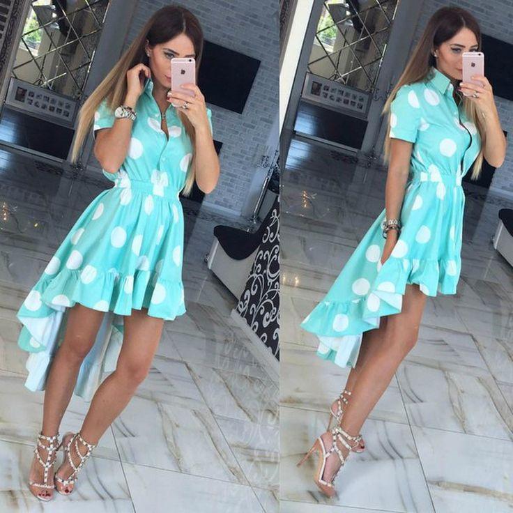 Мода 2017: летние платья тенденции фото   FOTOMIR24.RU