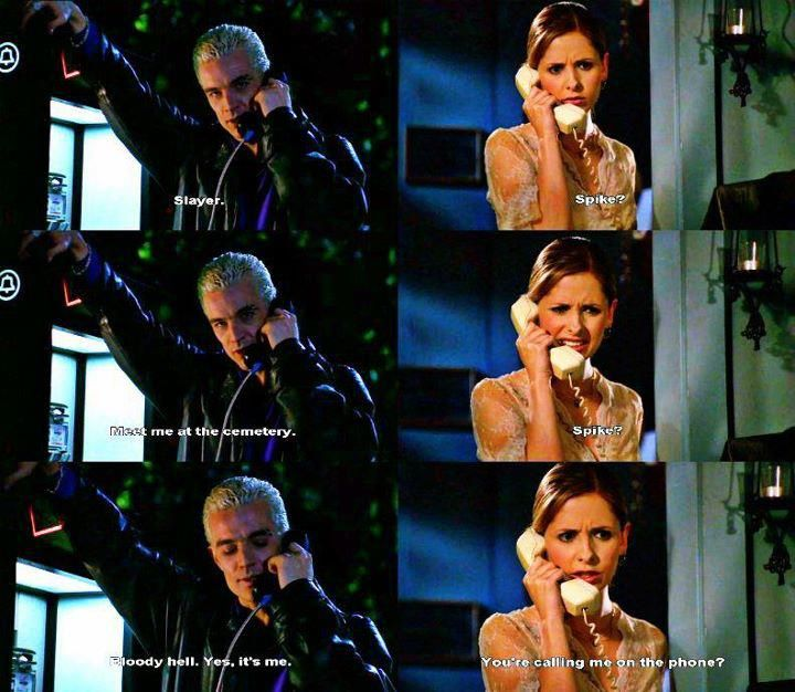 No matter how many times I watch Buffy I always laugh harder each time!! The comedy is just so realistic and just plain out funny!!  Spike & Buffy   #VeryWhedonChristmas