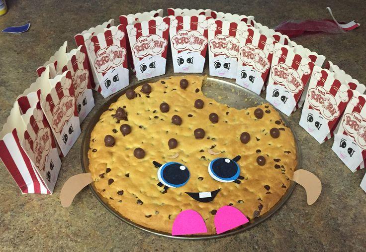 Poppy corn and Kookie cookie
