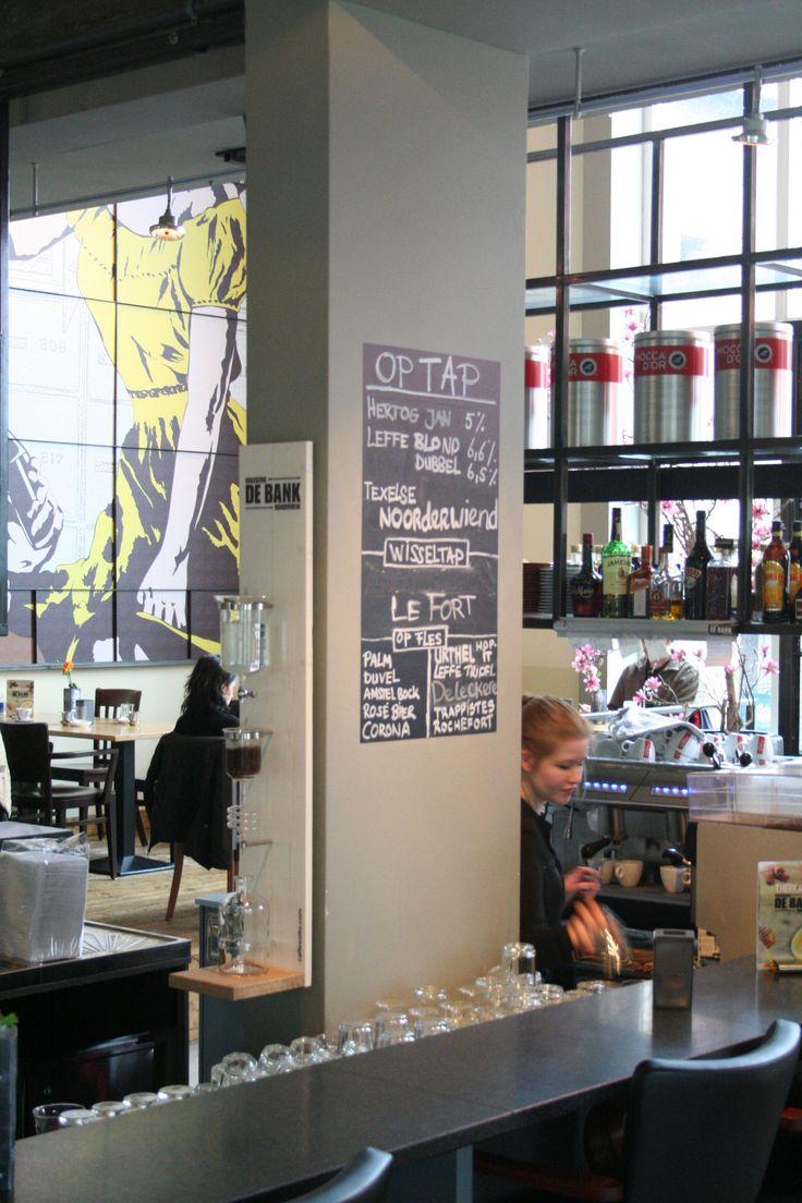 Cold Drip Bar bij Brasserie De Bank in Harderwijk.