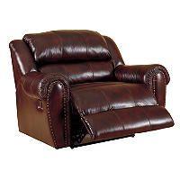 Lane Sidney Leather Reclining Snuggler - Sam's Club $898