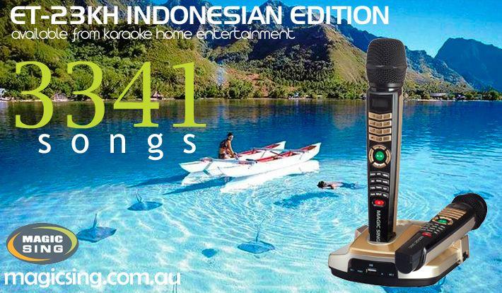 Indonesian Edition Magic Sing Karaoke System ET-23KH