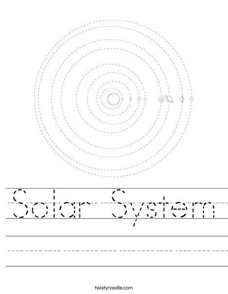 solar system worksheet twisty noodle homeschool solar system pinterest solar system. Black Bedroom Furniture Sets. Home Design Ideas