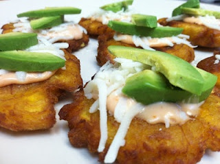 Tostones (Fried Green Plantains) With Avocado Recipe | Mommyhood's Diary