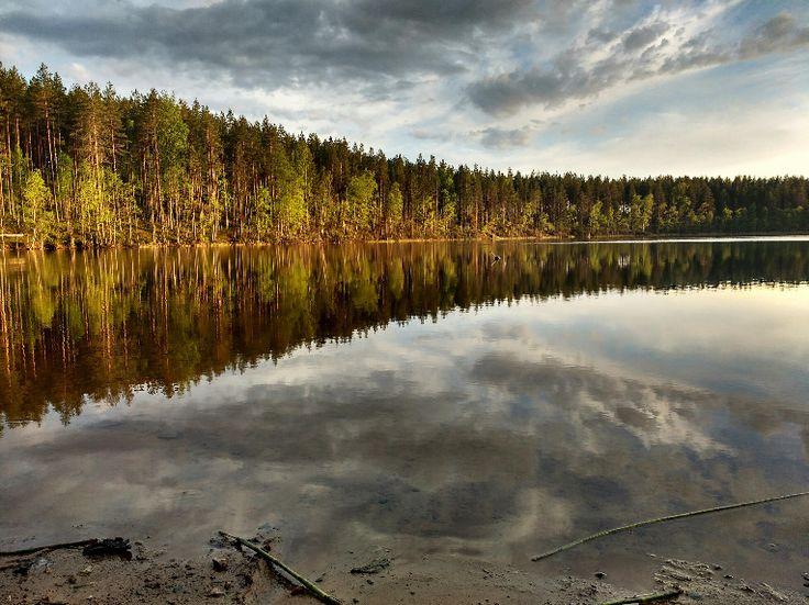 Pretty sunset in Rokua, Finland [4160×3120] – Natu…