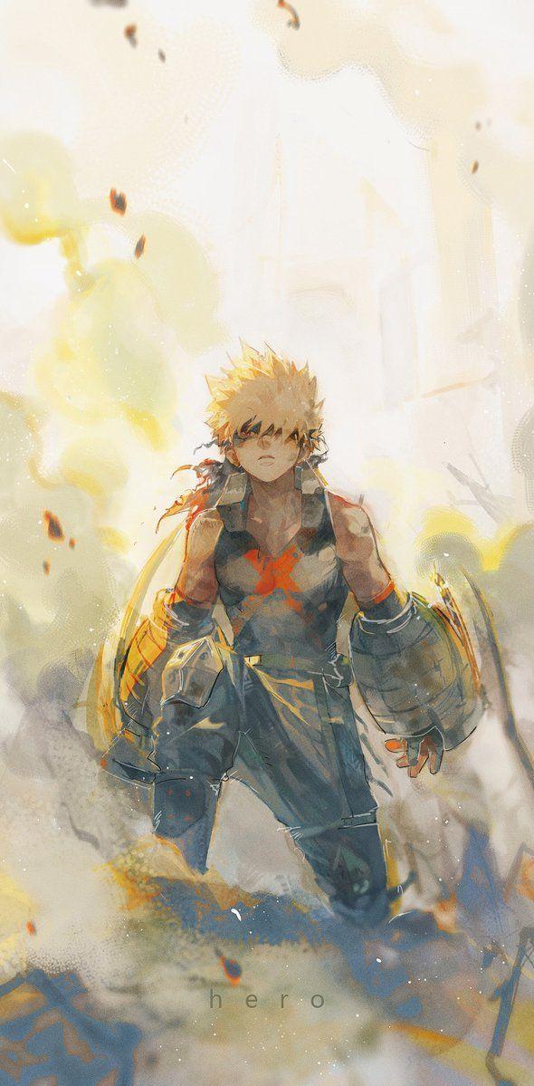 My hero academia phone wallpaper. Bakugou   My hero academia art, Hero wallpaper, Bakugou ...