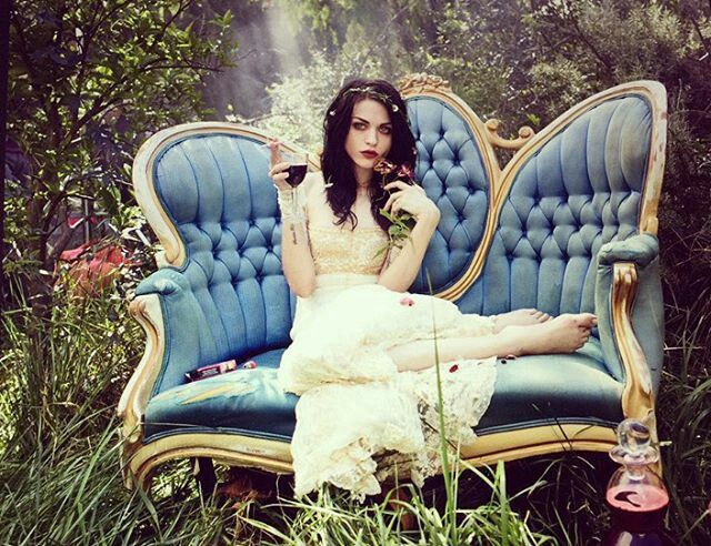 (Frances Bean Cobain) Frances is a witch. But she has ties with the voodoo magic. She's a force to be reckoned with, but despite her badass attitude, she's a very good and caring person. She just doesn't let people walk all over her.