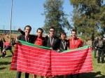 Atletas del Club Correcaminos del Duero que participaron en la XXIX Maratón de Sevilla