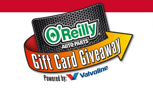 """OReilly Gift Card Giveaway 