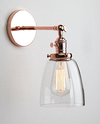 Buyee® Modern Vintage Industrial Metal Head Glass shade Loft Wall Light Scone Wall Lamp (copper head) Buyee http://www.amazon.co.uk/dp/B016HVWARG/ref=cm_sw_r_pi_dp_SMovwb19QJSRC