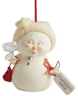 Department 56 Snowpinions Champagne Taste Christmas Ornament