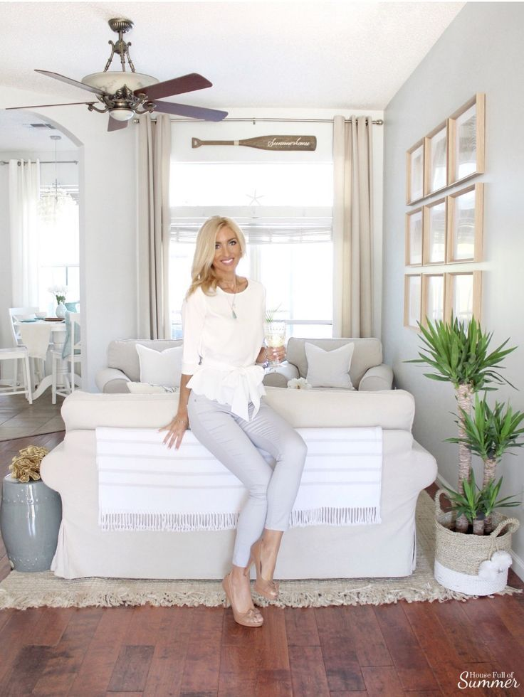 How I Chose My Calming Coastal Gray Wall Color With Images