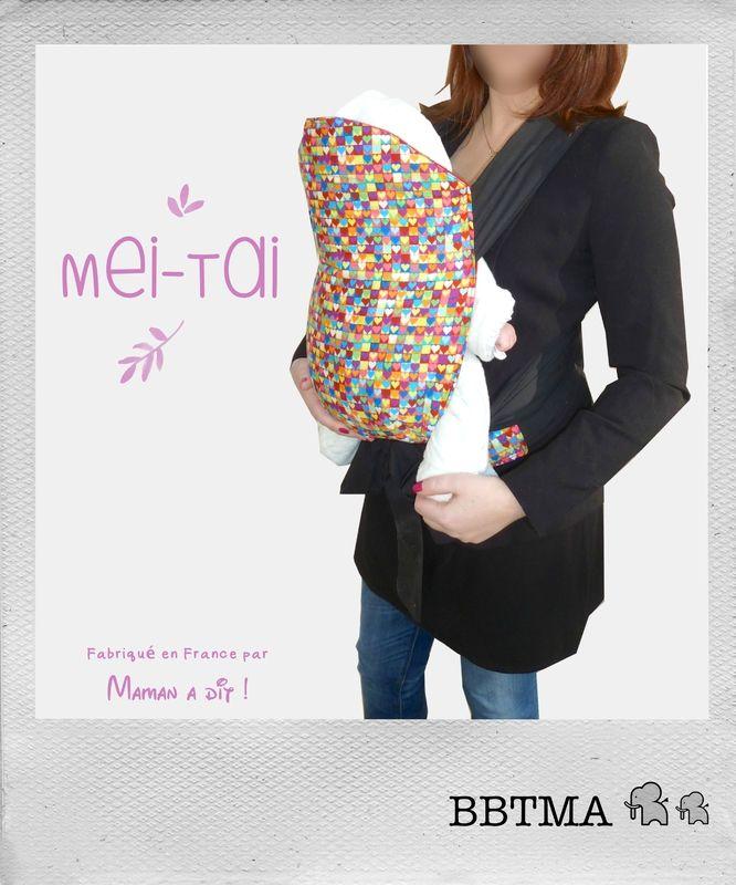 Porte-bébé Mei-Tai de MAMAN A DIT