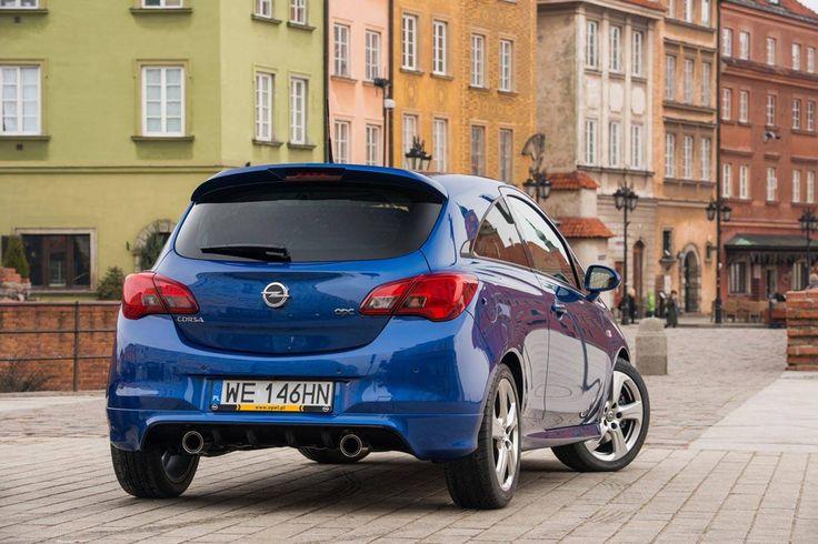 Opel Corsa OPC w Warszawie  - Warsaw Poland