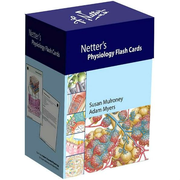 FREE MEDICAL BOOKS: Netters Physiology Flash Cards