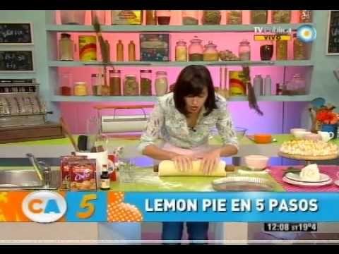 Me quedo deliciosa, excelente receta! Lemon Pie en 5 pasos