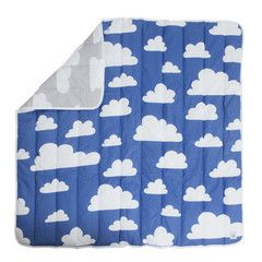 Play Mat . Clouds Grey / Blue