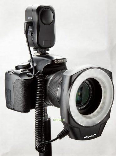 NEEWER? Macro Ring LED Light - Works with Canon/Sony/Nikon/Sigma lenses $32.22