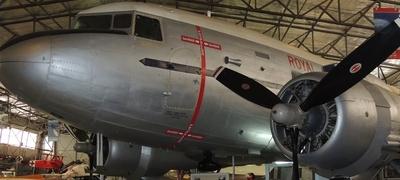 DC3 Dakota @ SA Aviation Museum, Port Adelaide