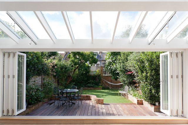 Making small spaces big - beautiful London property
