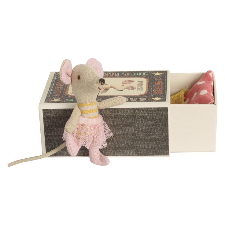 Little Sister Mouse in box by Maileg | Wild & Whimsical Things www.wildandwhimsicalthings.com.au