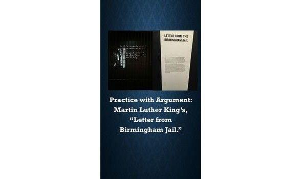 rhetorical devices in letter from birmingham jail
