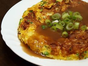 I grew up (in New York) with Egg Foo Yung. I know it's not traditional Chinese, but I don't care. After a search, this recipe (from about....