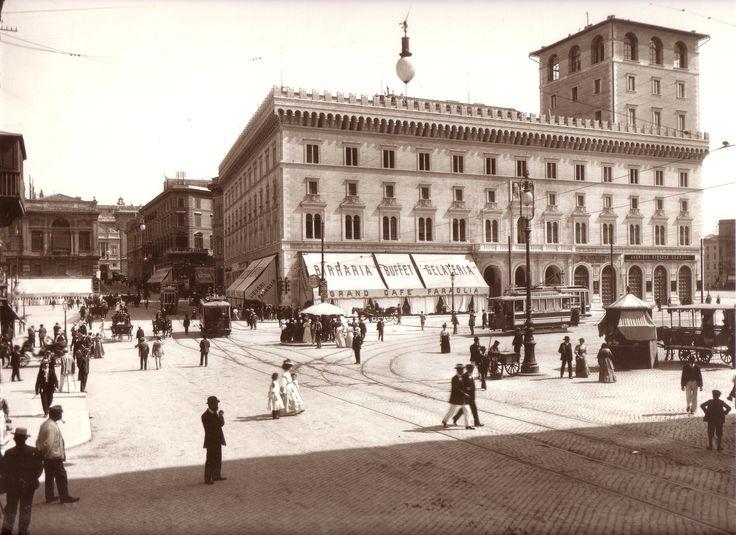 piazza venezia 1915