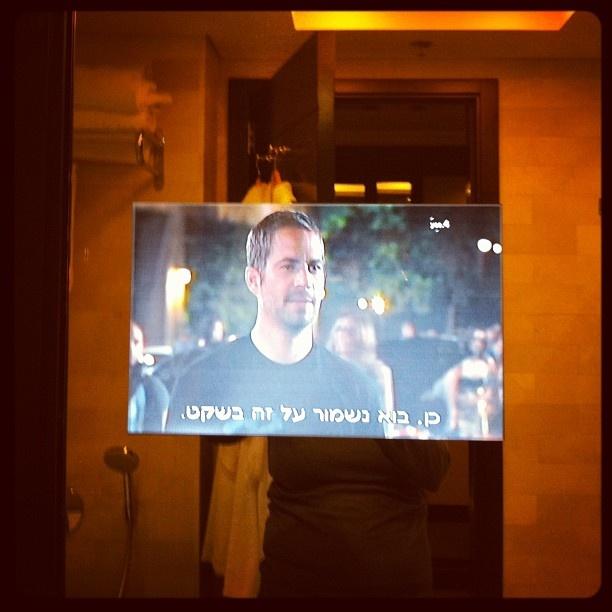 Tv in mirror - #Tech Savvy at Dan Carmel #Haifa #Hotel