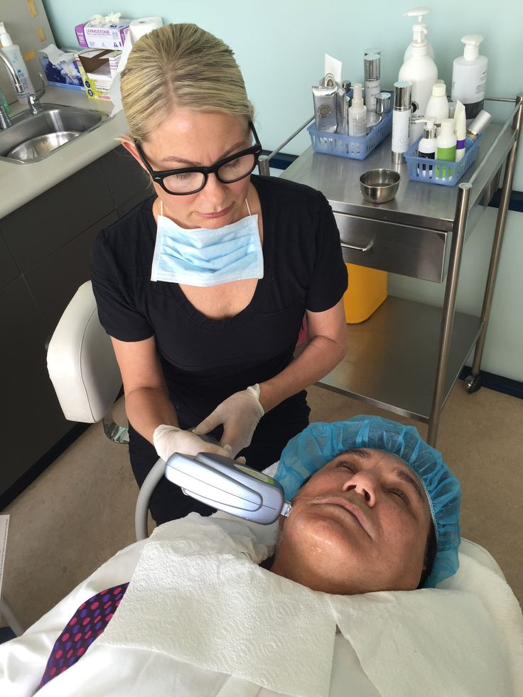 Even Dr Mayson gets his Skin Tightening Treatment done by Bettina! Stay tuned for his before and after photos to come. #getridofwrinkles #smoothskin #getresults