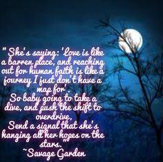 25 Best Ideas About Savage Garden On Pinterest