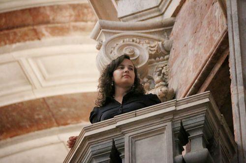 Daniela Moreira, órgão, Portugal, Basílica do Palácio Nacional de Mafra