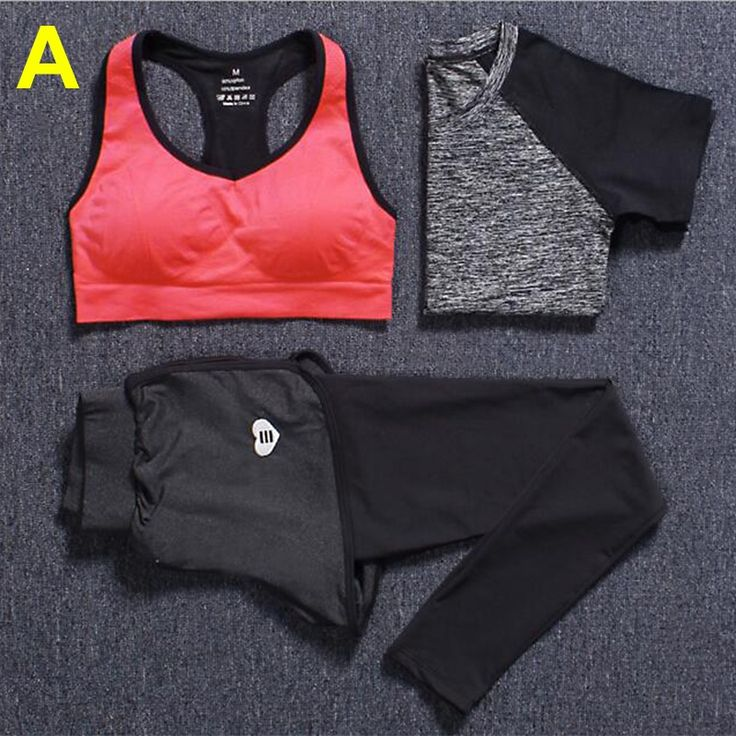 3 Piece Fitness Sets T-shirt+Bra Vests+Pants   $ 70.61   Item is FREE Shipping Worldwide!   Damialeon   Check out our website www.damialeon.com for the latest SS17 collections at the lowest prices than the high street   FREE Shipping Worldwide for all items!   Get it here http://www.damialeon.com/new-womens-gym-clothes-yoga-3-piece-sets-t-shirtbra-vestspants-running-sport-suit-tight-training-leggings-fitness-sportswear/        #damialeon #latest #trending #fashion #instadaily #dress…
