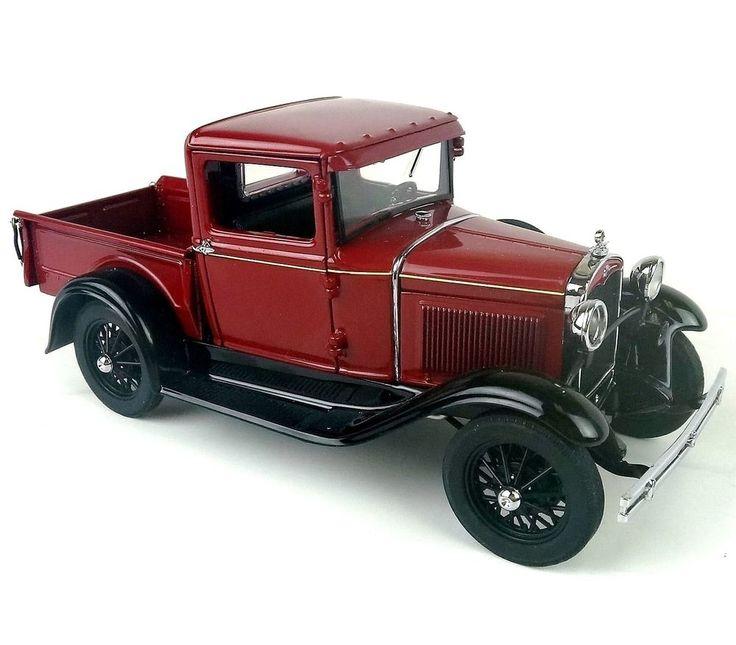 danbury mint 1931 ford model a 1 24 diecast truck models ford and pickup trucks. Black Bedroom Furniture Sets. Home Design Ideas