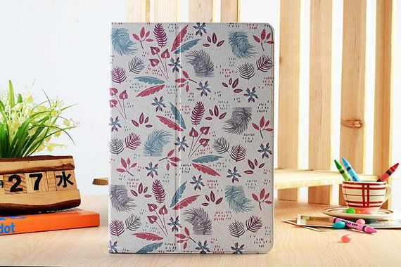 Floating Reed Leaves Floral Case Fold Lether by SereneLifeDesign, $29.99